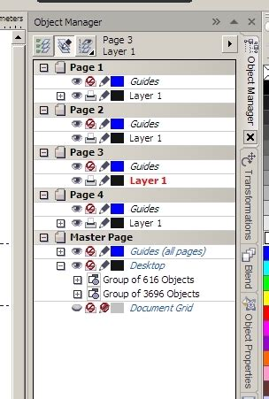 corel draw x6 layers layers when i move objects from master page coreldraw