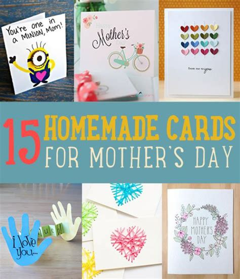 Mother S Day Gift Card Ideas - diy card ideas for mother s day diy projects craft ideas how to s for home decor