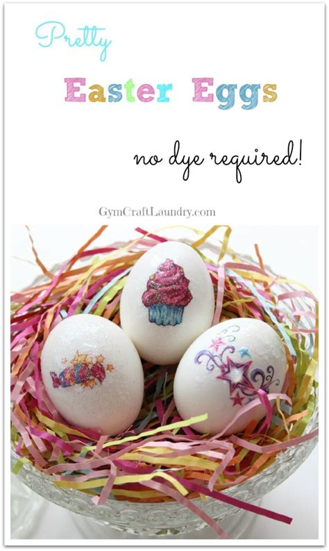 easy dyes for easter eggs easy no dye easter egg idea craft laundry