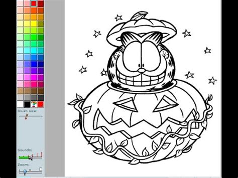 garfield coloring pages games garfield coloring pages for kids garfield coloring pages