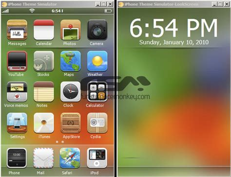 themes windows iphone iphone theme simulator tool for windows