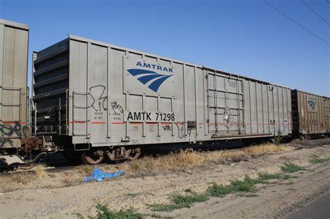 box car amtrak 60 boxcar arvin california june 22 2011