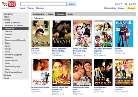 free full movies youtube watch bollywood movies free online legally now on youtube
