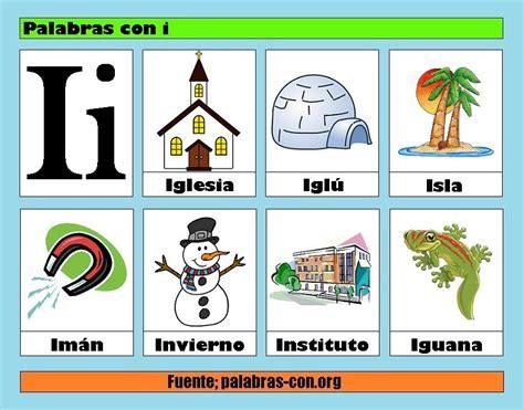 imagenes que empiecen con la letra h a color palabras con i alfabeto abecedario pinterest pre
