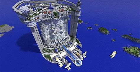 Cayan Tower Floor Plan Skyscraper Teamhouse Minecraft Building Inc