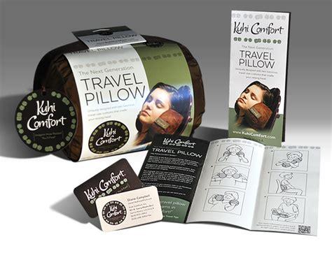 Kuhi Comfort by Kuhi Comfort Travel Pillow Packaging On Behance
