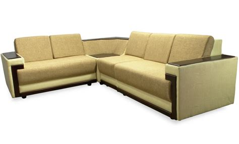 sofa braun braun covered sofa set l shape
