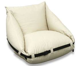 pillow chair for bed a pillow chair that unfolds into a bed neat ideas