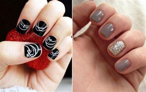 unghie fiori semplici unghie corte decorazioni semplici e carine