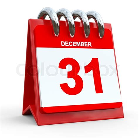 new year 31 31 december calendar last day of the year stock photo