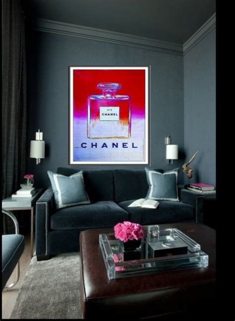 Chanel Inspired Room by Chanel Living Room Chanel Inspired Rooms