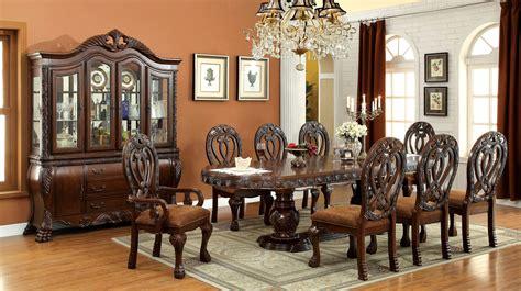 furniture  america elmiraine double pedestal  piece