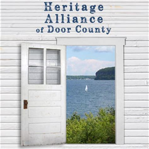 Door County Calendar Of Events by Bay Historical Society Appreciating The Heritage Of Bay
