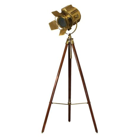 directors tripod floor l hollywood director s adjustable aluminum spot light tripod