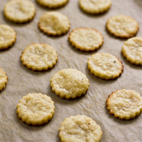 Handmade Crackers - supper parmesan crackers