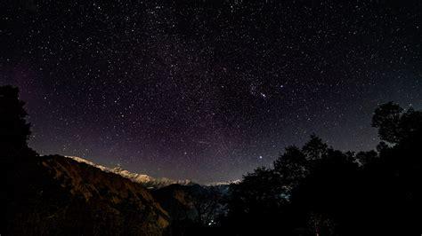 wallpaper  starry sky stars shine