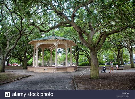 White Point Garden - gazebo in battery park and white point gardens in