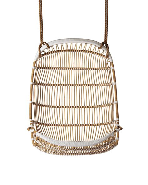 hanging rattan chair double hanging rattan chair chairs serena and lily