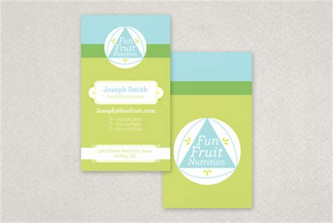 nutritionist business card templates bright nutritionist business card template inkd