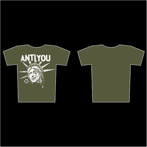 Anti You T Shirt anti you anti you t shirt agipunk crust metal label mailorder and booking