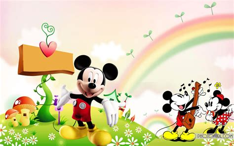 pc mouse themes cartoon mickey mouse wallpaper