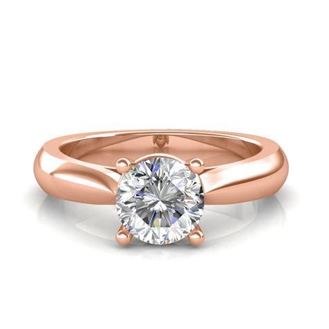 classic engagement ring solitaire rings at best