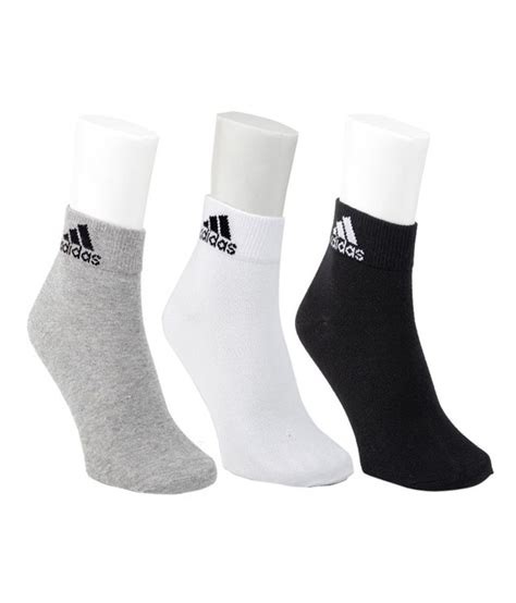 adidas multicolor cotton casual ankle length socks 3 pair pack buy at low price in