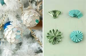 Diy paper christmas tree decorations decorating ideas