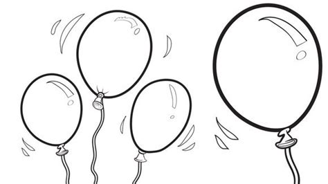 coloring pictures of birthday balloons balloons grandparents com