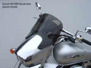 Visor Windshield Suzuki Address meancycles laminar lip speed shield for m109r part no