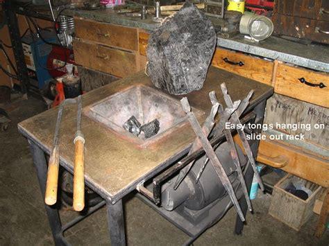 Handmade Forge - coal forge on a budget alaska blacksmith