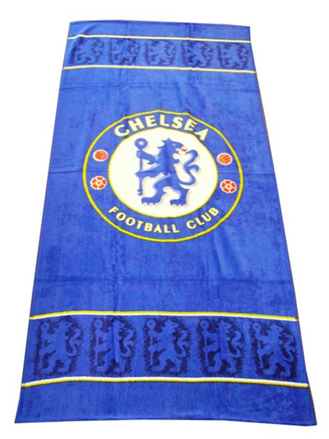CHELSEA FOOTBALL CLUB BEACH TOWEL