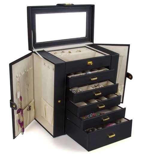 jewelry storage kendal leather jewelry box storage ljc