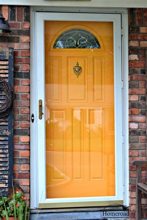 Painting My Front Door Painting My Front Door Yellow