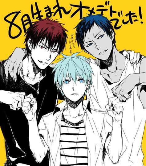Kaos Anime Kuroko No Basket kuroko no basuke bump kuroko s basketball oh anime my anime them 2
