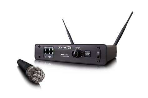 Microphone Wireless Audio Line line 6 xd v55 digital wireless handheld microphone system