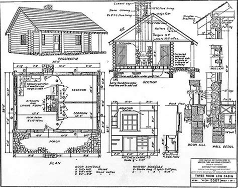 free cabin floor plans 30 diy cabin log home plans with detailed by