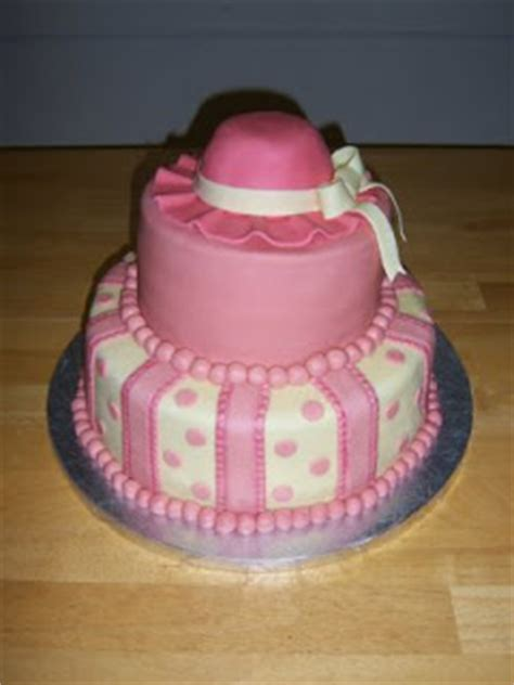 Pink And Yellow Baby Shower Cake by Creative Cakes By Angela Pink And Yellow Baby Shower Cake