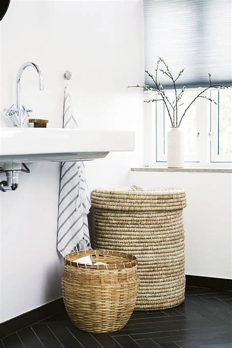 basket bathroom storage ideas  pinterest organization ideas small downstairs