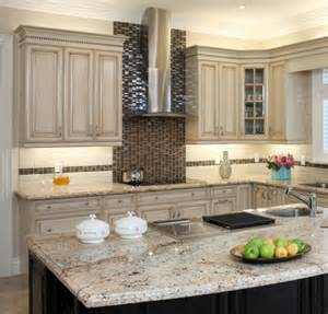 Painting these kitchen cabinets antique white was a great idea and