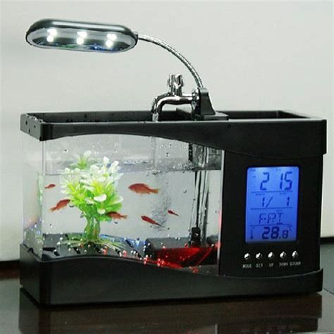 unique cool electronics mini fish tankid product