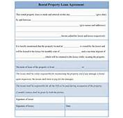 Rental Lease Agreement Forms Ez Landlord Pictures To