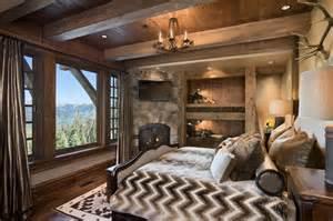 Rustic bedroom by locati architects via www locatiarchitects com