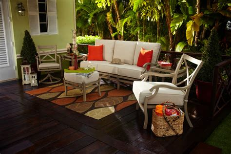 terrazza outdoor set tropical deck miami by el