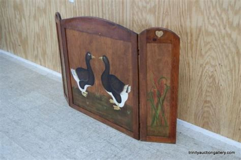 Wooden Fireplace Screen by Wooden Painted Fireplace Screen