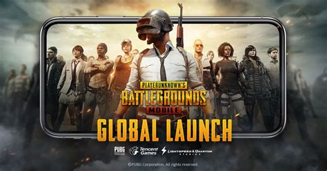 pubg mobile  iphone ipad android released