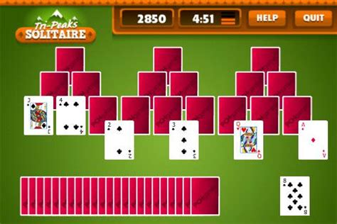 Pch Tri Peaks Solitaire - tripeaks solitaire free