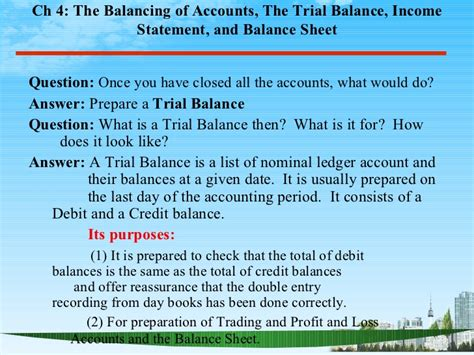 Does Mba Periods by The Balancing Of Accounts Ppt Bec Doms Bagalkot Mba Finance