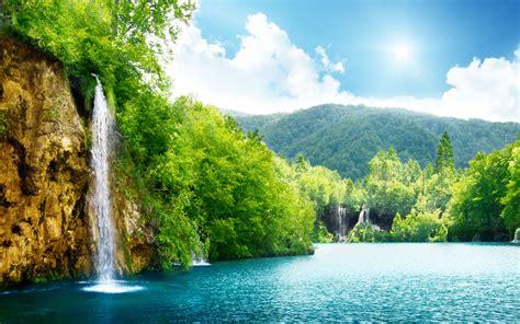 nature waterfall    windows  wallpaper hd