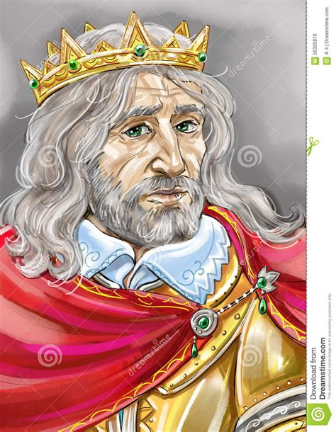 Of A King king stock illustration image 56325816